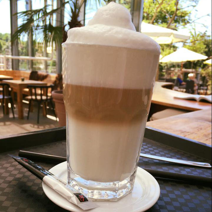Café Huben Latte Macchiato