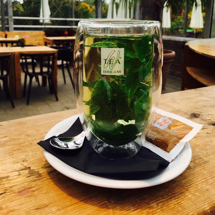 Café Huben Minztee