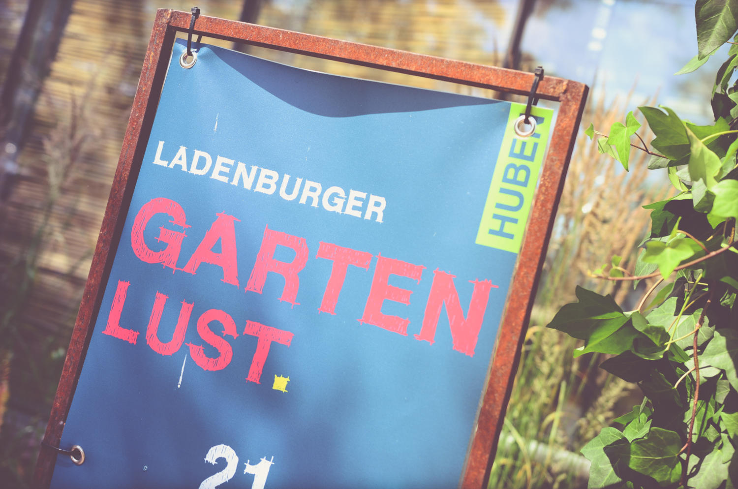 Plakat Ladenburger Gartenlust 2019
